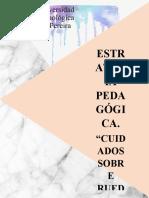 ESTRATEGIA PEDAGOGICA, C.P