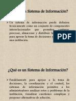 1. Sistema de Informacion