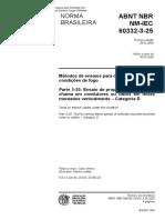 NBR NM-IEC 60332-3-25