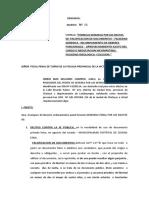 DENUNCIA penal alcalde de ciudada eten