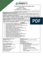 Programa- EDUCAÇÃO GESTÃO AMBIENTAL -MBA