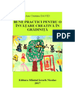 Prescolar-Bune practici pentru o invatare creativa in gradinita, David Ana Cristina