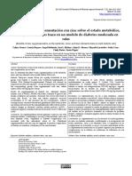 Beneficios de la suplementación con zinc sobre el estado metabólico, redox y de elementos traza en un modelo de diabetes moderada en ratas.