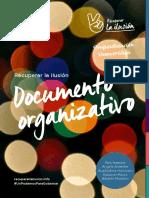 Documento Organizativo de Recuperar La Ilusión.