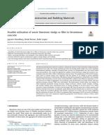 Feasible utilization of waste limestone sludge as filler in bituminous concrete