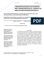 Rehabilitacion Neuropsicologica En Pacientes ConT raum