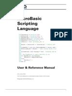 MicroBasic Scripting Manual