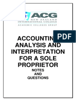 Analysis and Interpretation Notes and Questions(3)