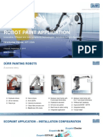 Robotic Paint Applications