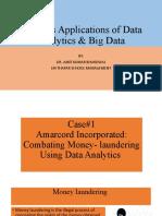 Business Applications of Data Analytics & Big Data