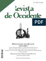 MQ como respuesta al nihilismo REV. OCC. 396