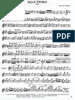 Alla Fiora parte per Sax Alto e Clarinetto in Do     007