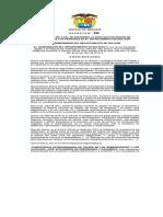 Decreto 255 del 11 de junio 2020