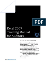 Excel 2007 Tutorial