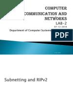 RIPv2 Slides