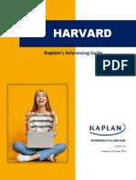 Kaplan Harvad Referencing Student User Guide v 3.2 (23.04.2020)