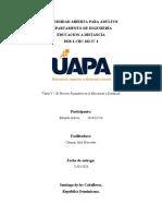Tarea V- Educacion a distancia - Eduardo Garcia 2020-01726