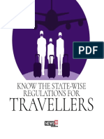 state-wise regulations for travellers
