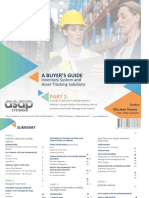 A BUYER'S GUIDE Inventory System and Asset Tracking Solutions