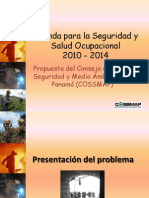 Agenda Para La Seguridad y Salud Ocupacional