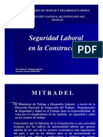 Seguridad Laboral en la Construcción