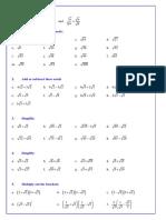Worksheet on Surds.pdf