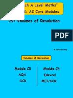 29 Volumes of Revolution.pptx