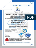 Garnet Qatar ISO 9001
