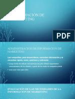 INFORMACIÓN DE MARKETING