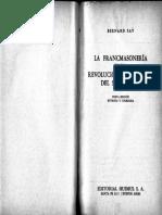 Fay Bernard - La Francmasoneria Y La Revolucion Intelectual Del Siglo XVIII