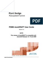11 Pdms Autodraft User Guide