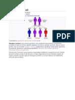 Genetică umană