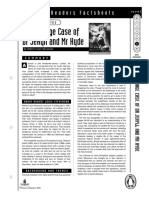 Dr Jekyll and Mr. Hyde Penguin Fact Sheet Level 5