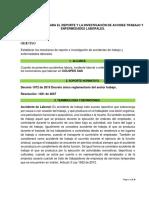 procedimiento de investigacion DE ACCIDENTES COLPES SAS - MAYO -2018