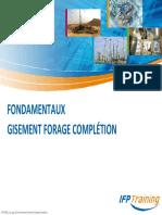 Fondamentaux Gisement Forage Complétion pips2010 62s