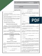 Loi n° 20-07 du 12 Chaoual 1441 correspondant au 4 juin LFC 2020