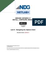 VSphere ICM67 Lab 01