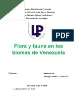 Biologia, Flora y Fauna
