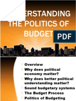 Understanding the Politics of Budget