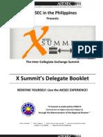 AIESEC X Summit Delegate Handbook