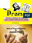 Drama Distinguished Jayanti Patel