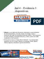 Actividad 4 – Evidencia 3 diapositivas alksot