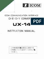 Icom Ux14 En