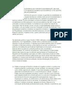 A DIMENSÃO ECONÓMICA DO CONCEITO GOVERNAÇÃO