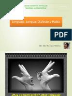 Lenguaje Dialecto Lengua y Habla