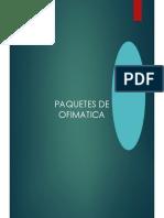 PAQUETES OFIMATICOS