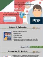 PROTOCOLO DE BIOSEGURIDAD - Plan de Normalización Actividad Rama Judicial