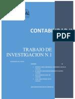 TRABAJO DE INVESTIGACION No. 1 CONTABILIDAD II