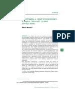 UNA ALTERNATIVA AL CHOQUE DE CIVILIZACIONES - EL MODELO EDUCATIVO Y CULTURAL DE PAULO FREIRE
