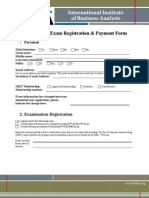 CBAP Examfee Form October 2010